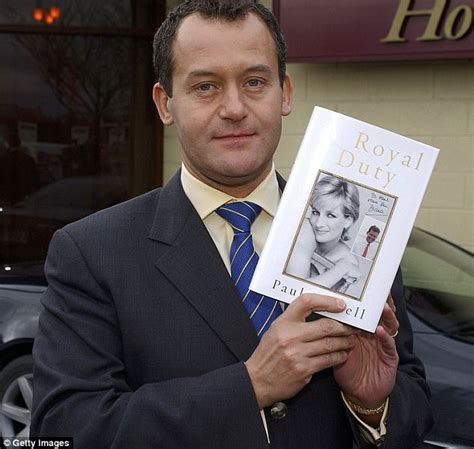 Paul Burrell Give It A Rest by Who Are I M A S New Intruders Daily Mail