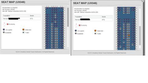 plan de cabine air europa airbus a330 200 seatmaestro fr