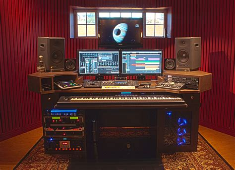 home music studio desk pdf home recording studio desk plans plans free