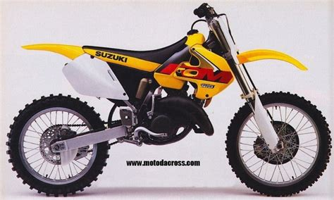 Suzuki Rm 125 1999 Suzuki Rm 125 Tutti Gli Anni Di Produzione