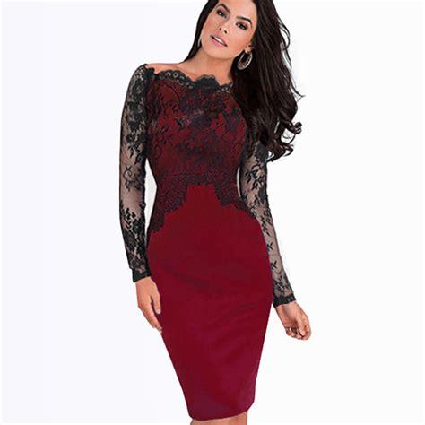 black and white long sleeve red dress turmec 187 long sleeve red and black dress