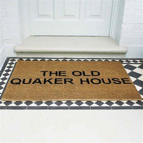 personalised doormat uk personalised doormat by the letteroom notonthehighstreet