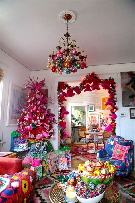 eclectic home  christmas  aunt peaches kelly elko