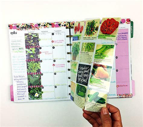 garden design calendar the happy planner garden calendar journal me my