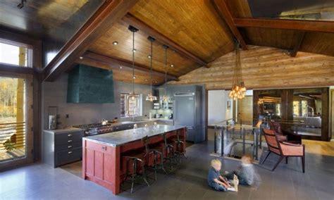 lodge kitchen modern rustic cabin kitchen diy cabin kitchen mountain