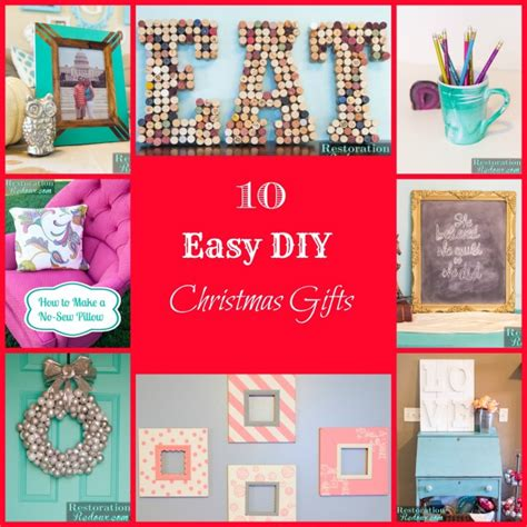 10 easy christmas gifts to make 10 easy diy gifts daily dose of style