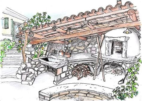 forno in muratura da giardino oltre 25 fantastiche idee su forno in muratura su