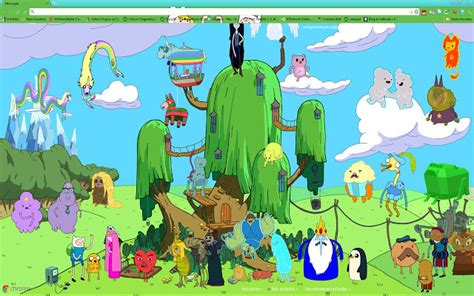 themes google chrome adventure time adventure time tree fort 3 rlq studios