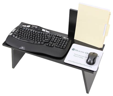 Stand Up Desk Accessories Transition Workstation Sit Stand Work Desk Modern Desk Accessories Chicago By Healthy