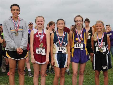 junior high girls athletics cross country junior high girls claim ksac chionship