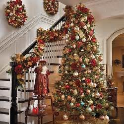 Fir tree christmas decorations traditional holiday decorations