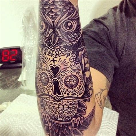 tattoo owl skull pinterest discover and save creative ideas