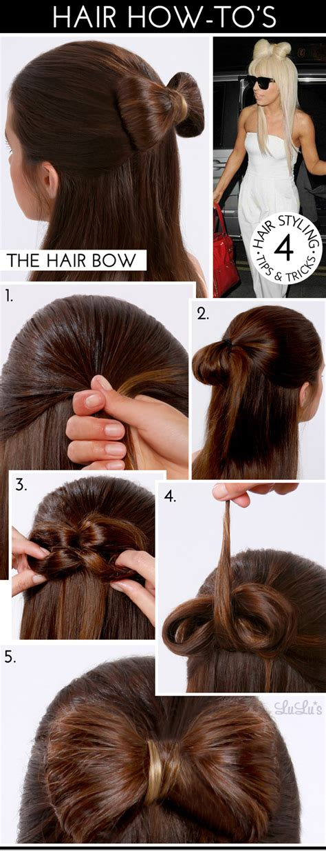 Bow Hairstyle Step By Step by Bow Hairstyles Step By Step Www Imgkid The Image