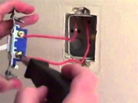 wiring a switch single pole switch conduit