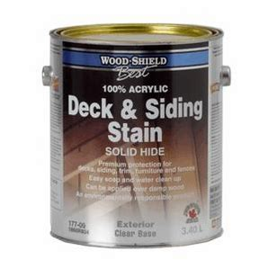 wood shield  ml solid redwood acrylic deck