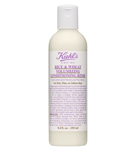 Kiehls Rice And Wheat Volumizing Conditioning Rinse 39 best images about hair care on argan hair sprays and conditioning