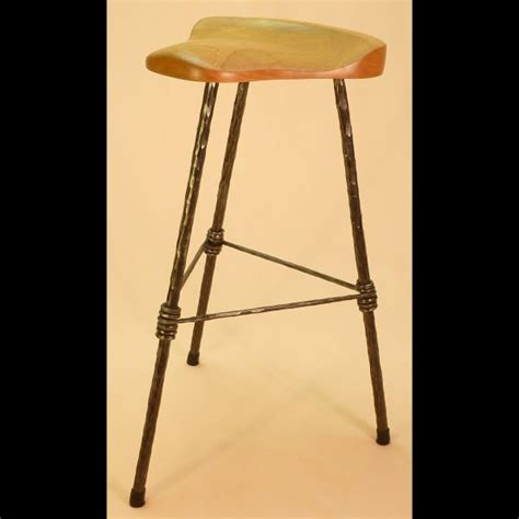 3 Legged Bar Stool by Furniture A Touch Of The Past