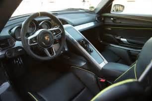 Porsche 918 Spyder Interior 2015 Porsche 918 Spyder Interior Photo 7
