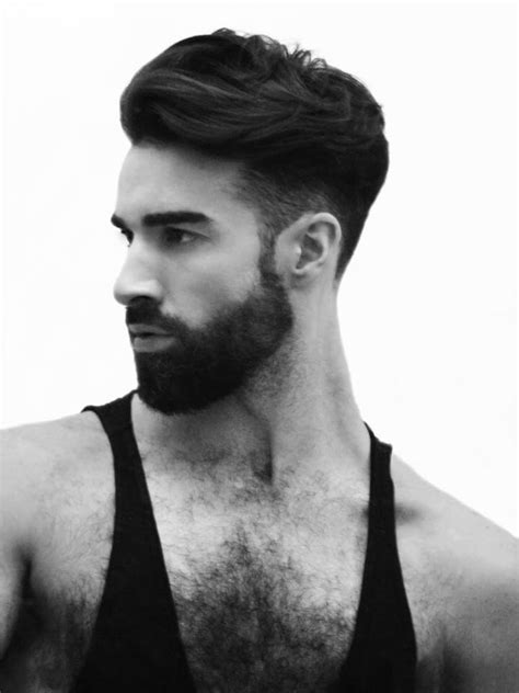 good hairstyles to go with a beard haircuts for bearded men newhairstylesformen2014 com