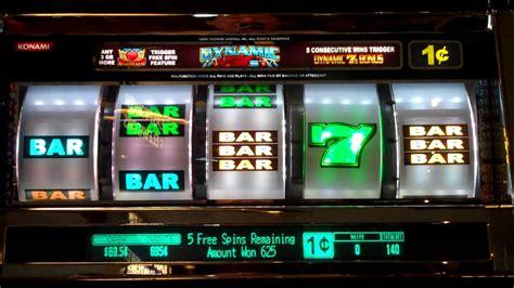 dynamic  konami slot machine  spins bonus game