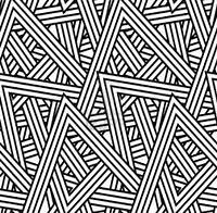 Art Patterns Ideas Triangle Deco Design