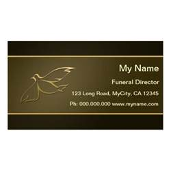 funeral business cards funeral director business cards bizcardstudio