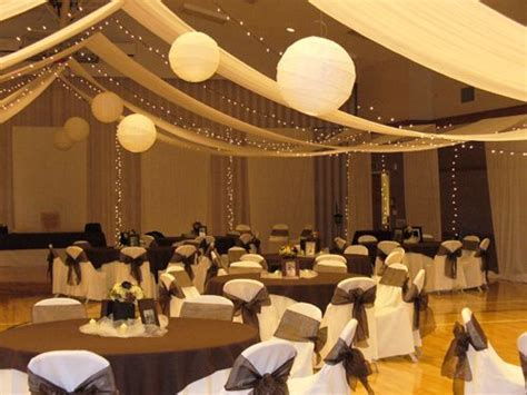 LDS Cultural Hall Wedding Decorations   mormon cultural