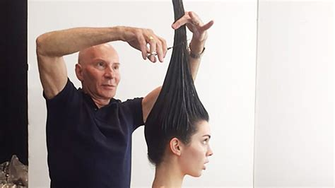 what is vertical haircut did kendall jenner get a vertical haircut for her vogue