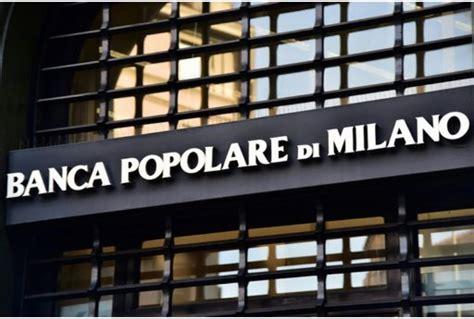 Banco Popolare Telefono by Banco Popolare E Bpm Approvano Fusione Nasce Banco Bpm