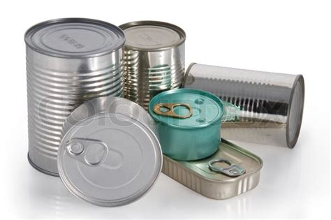 Palu Essen 16 Oz metal food cans stock photo colourbox