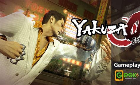 Ps4 Yakuza 0 Region 2 Eur yakuza 0 fuori dalla famiglia dojima gameplay