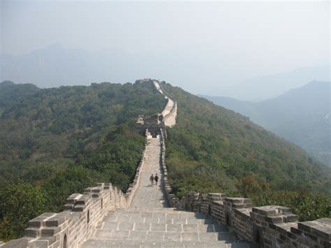 mutianyu section of the great wall legless at mutianyu great wall here is beijing