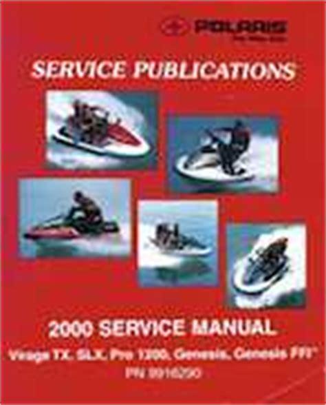 2000 Polaris Virage Tx Slx Pro 1200 Genesis Genesis