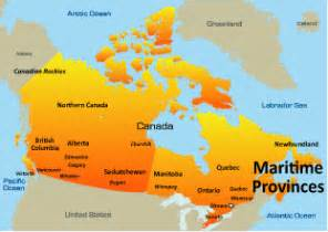 canada maritimes map opinions on the maritimes