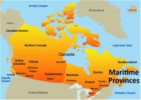 opinions on the maritimes