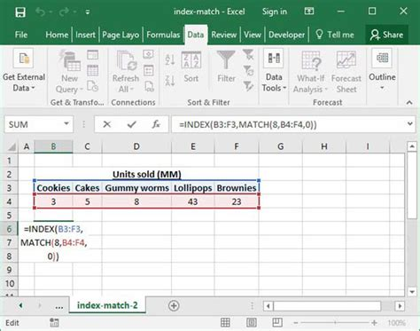Spreadsheet Index by Search Excel Spreadsheets Faster Replace Vlookup With