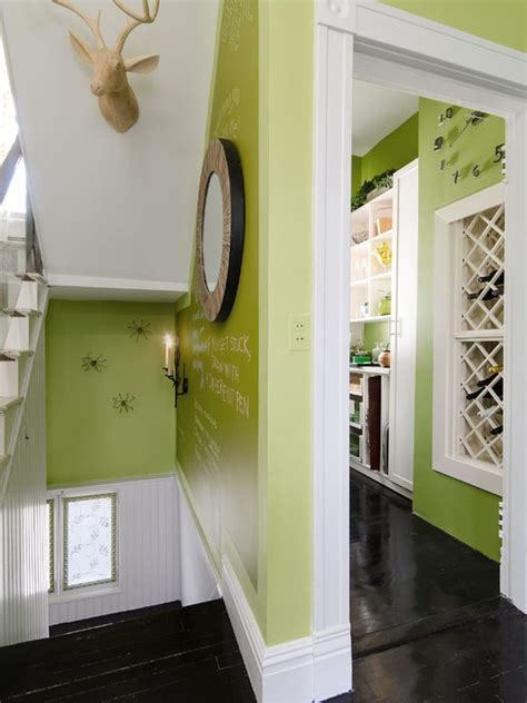 green successfully   hallway