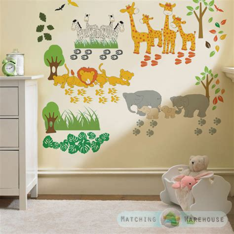childrens bedroom decoration stickers childrens kids themed wall decor room stickers sets