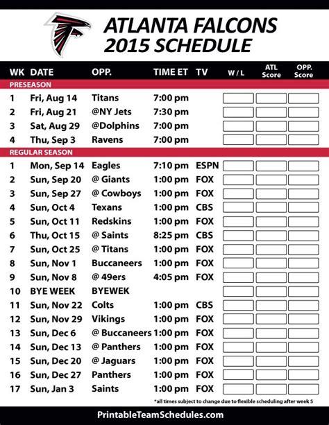 Printable Patriots Schedule 2017