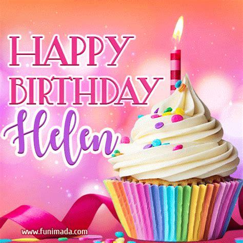 happy birthday helen lovely animated gif   funimadacom