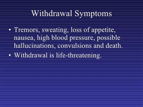 Detox Symptoms High Blood Pressure barbiturate