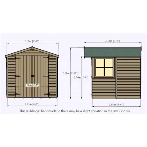 Colchester Sheds And Fencing by Overlap Door 7 X 7ft Colchester Sheds And Fencing