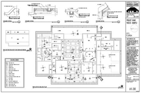 House Plans In Florida by Custom House Plans Reflected Ceiling Plan Florida Architect