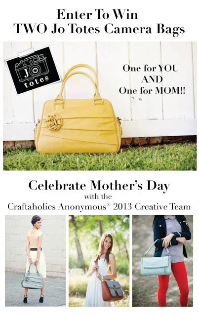 Jo Totes Giveaway - craftaholics anonymous 174 huge jo totes mother s day giveaway