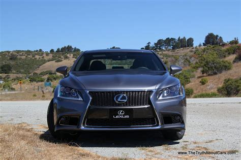 lexus sports car 2013 2013 lexus ls 460 goes more intense more sporty and more