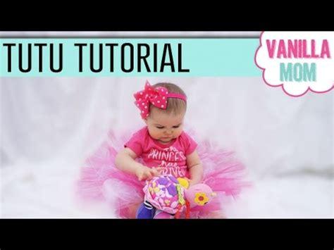 youtube tutorial tutu diy no sew tutu tutorial for baby girl halloween dress