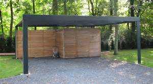 Attached Garage Designs Metall Carport Quot Kubus Quot Lieken Metall Design