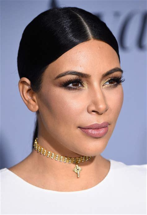 kim kardashian ponytail lookbook stylebistro