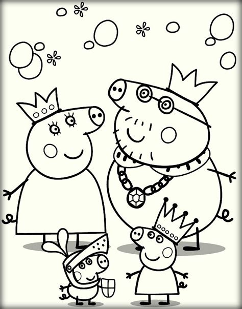 peppa pig muddy puddles coloring pages pig color page peppa family muddy puddles coloring page