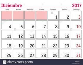 december calendar in spanish blank calendar 2017